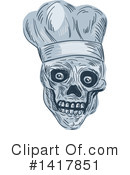 Royalty-Free (RF) Chef Clipart Illustration #1417851