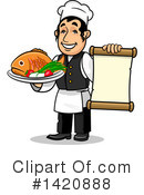 Chef Clipart #1420888 by Vector Tradition SM