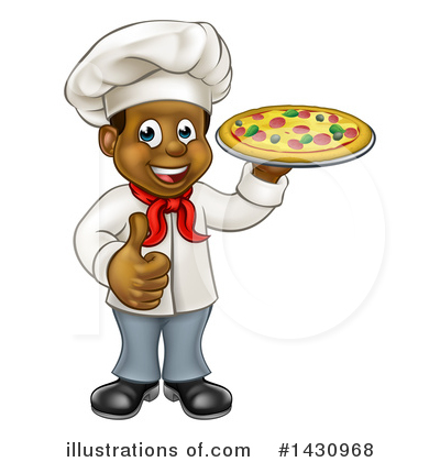 Pizza Clipart #1430968 by AtStockIllustration