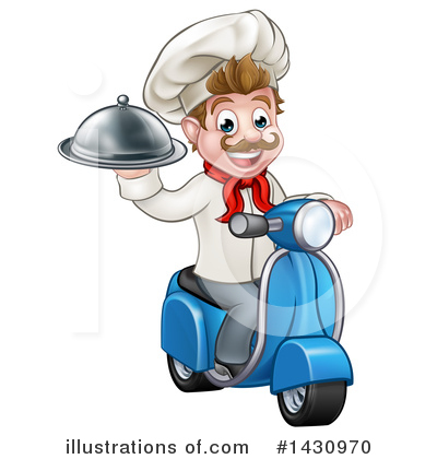 Food Delivery Clipart #1430970 by AtStockIllustration