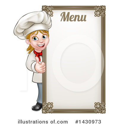 Chef Clipart #1430973 by AtStockIllustration
