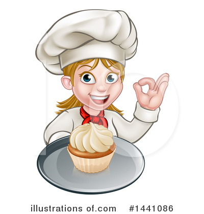 Cupcake Clipart #1441086 by AtStockIllustration