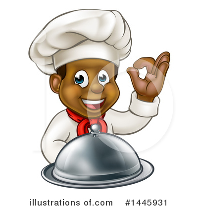 Chef Clipart #1445931 by AtStockIllustration