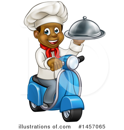 Food Delivery Clipart #1457065 by AtStockIllustration