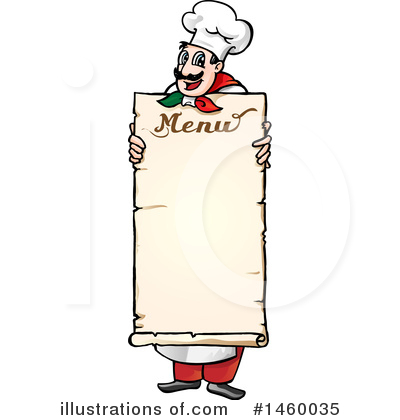 Menu Clipart #1460035 by Domenico Condello