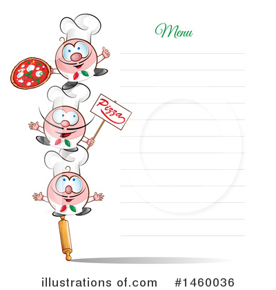 Menu Clipart #1460036 by Domenico Condello