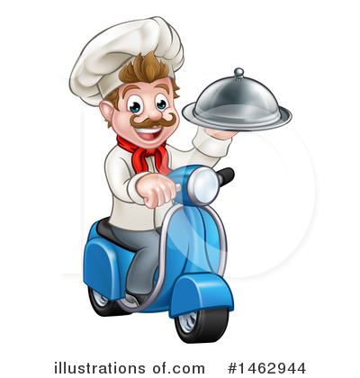 Food Delivery Clipart #1462944 by AtStockIllustration
