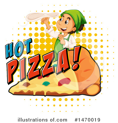 Pizza Clipart #1470019 by Graphics RF