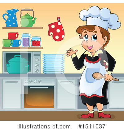 Kitchen Clipart #1511037 by visekart