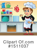 Chef Clipart #1511037 by visekart