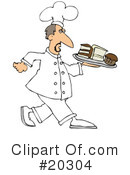 Royalty-Free (RF) Chef Clipart Illustration #20304