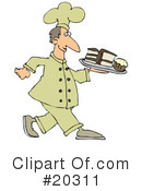 Royalty-Free (RF) Chef Clipart Illustration #20311