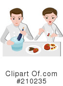 Royalty-Free (RF) Chef Clipart Illustration #210235