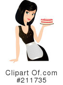 Royalty-Free (RF) Chef Clipart Illustration #211735