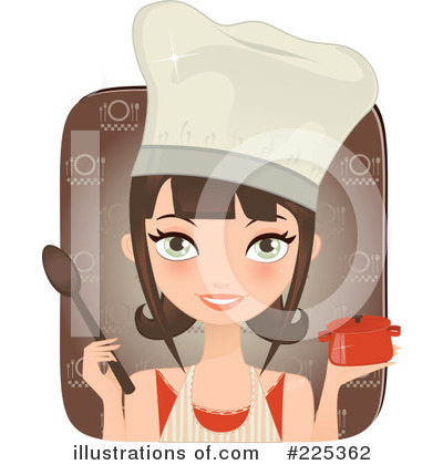 Royalty-Free (RF) Chef Clipart Illustration by Melisende Vector - Stock Sample #225362