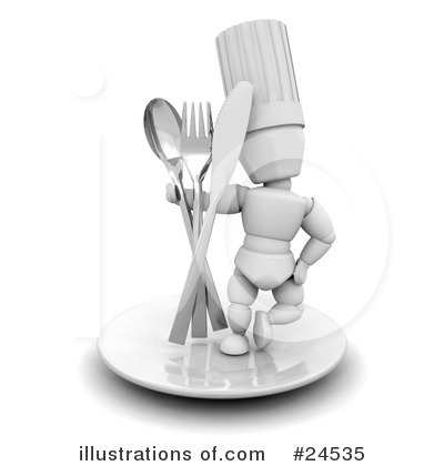 Chef Clipart #24535 by KJ Pargeter