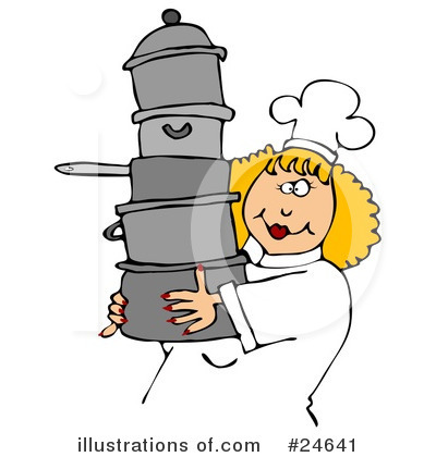Royalty-Free (RF) Chef Clipart Illustration by Dennis Cox - Stock Sample #24641