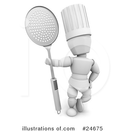 Chef Clipart #24675 by KJ Pargeter