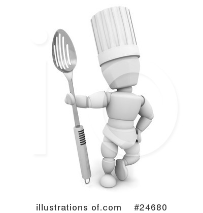 Chef Clipart #24680 by KJ Pargeter