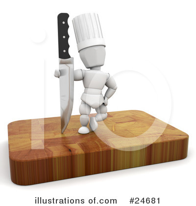 Chef Clipart #24681 by KJ Pargeter