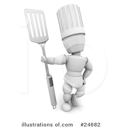 Chef Clipart #24682 by KJ Pargeter