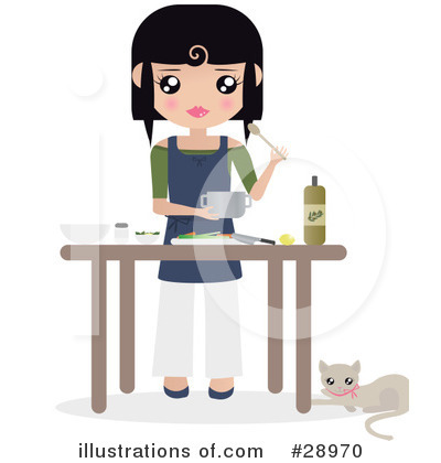 Chef Clipart #28970 by Melisende Vector