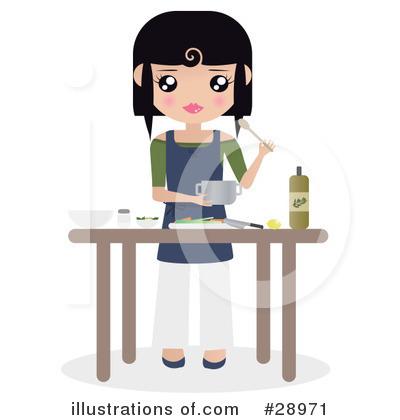 Chef Clipart #28971 by Melisende Vector