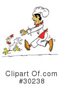Royalty-Free (RF) Chef Clipart Illustration #30238