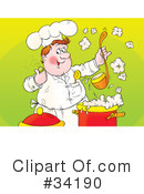 Chef Clipart #34190 by Alex Bannykh