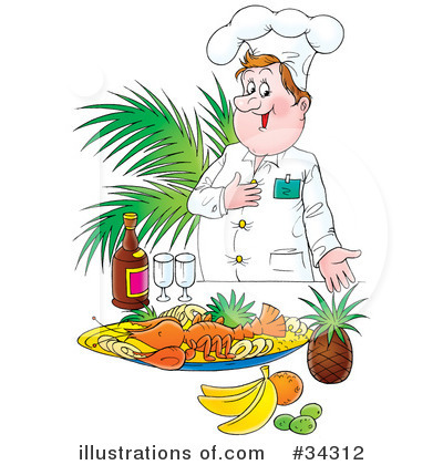 Chef Clipart #34312 by Alex Bannykh