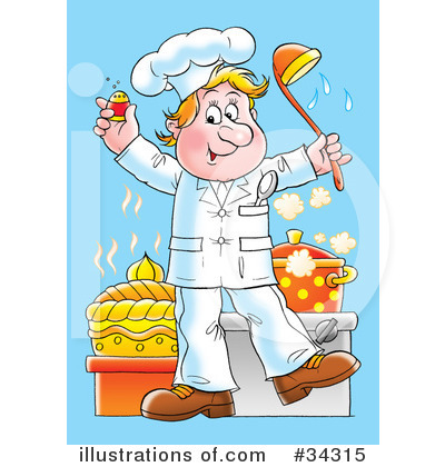 Chef Clipart #34315 by Alex Bannykh