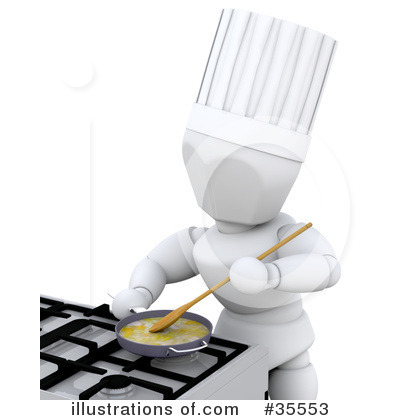 Chef Clipart #35553 by KJ Pargeter
