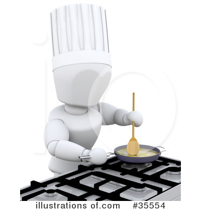 Chef Clipart #35554 by KJ Pargeter
