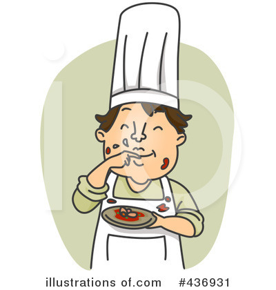 Chef Clipart #436931 by BNP Design Studio