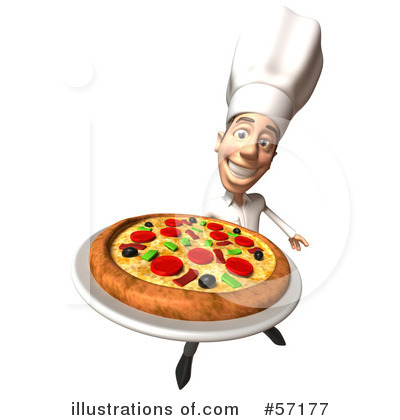 Casual White Man Character Clipart #57177 by Julos