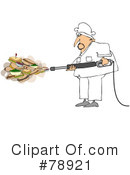 Royalty-Free (RF) Chef Clipart Illustration #78921