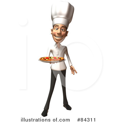 Casual White Man Character Clipart #84311 by Julos