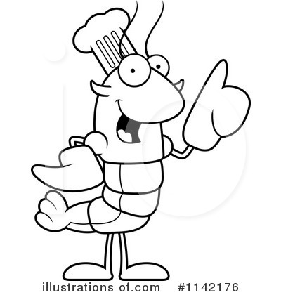 Chef Crawdad Clipart #1142176 by Cory Thoman