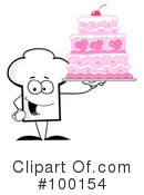 Royalty-Free (RF) Chef Hat Clipart Illustration #100154