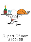 Royalty-Free (RF) Chef Hat Clipart Illustration #100155