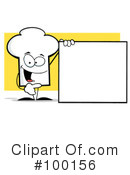 Royalty-Free (RF) Chef Hat Clipart Illustration #100156