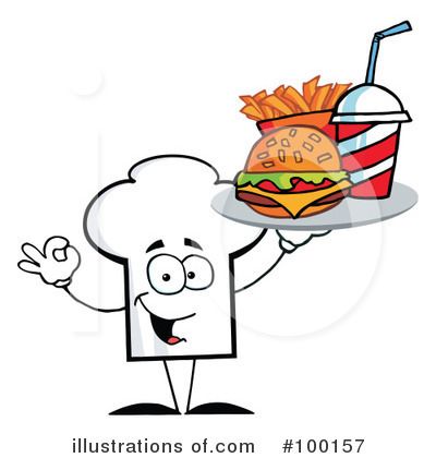 Burger Clipart #100157 by Hit Toon