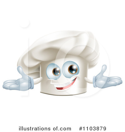 Chef Hat Clipart #1103879 by AtStockIllustration