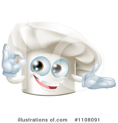 Chef Hat Clipart #1108091 by AtStockIllustration