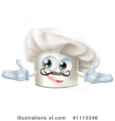 Chef Hat Clipart #1110346 by AtStockIllustration