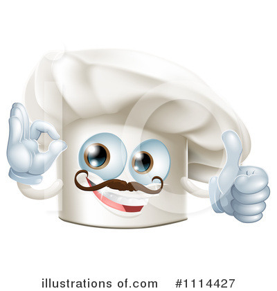 Chef Hat Clipart #1114427 by AtStockIllustration