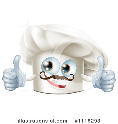 Chef Hat Clipart #1116293 by AtStockIllustration
