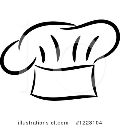 royalty free chef hat clipart illustration 1223104 - Beautiful Bakers Knives