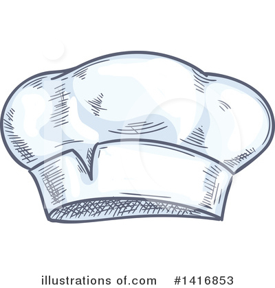 Chef Hat Clipart #1416853 by Vector Tradition SM