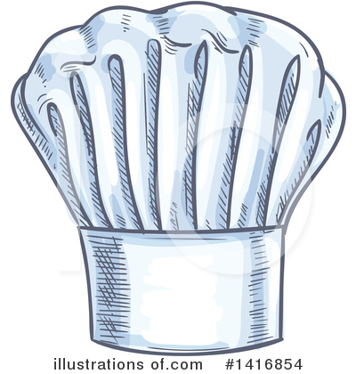 Chef Hat Clipart #1416854 by Vector Tradition SM